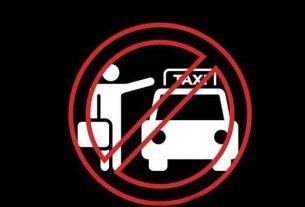 Manifestación contra taxis