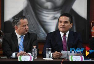 Santiago Nieto Castillo y Silvano Aureoles