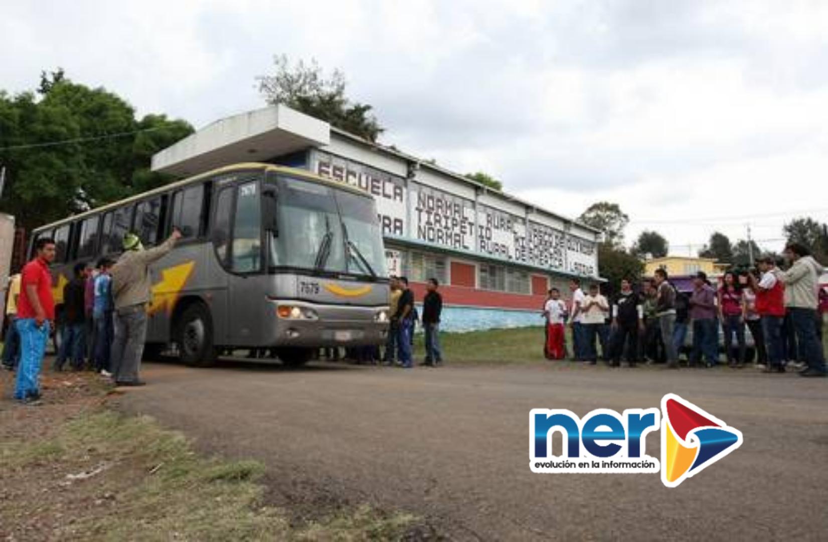 Autobuses secuestrados